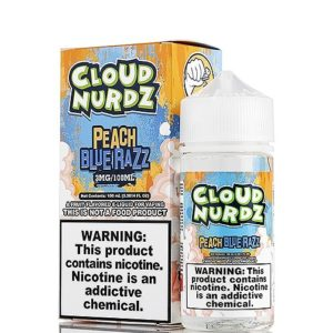 cloudnurdz peach bluerazz