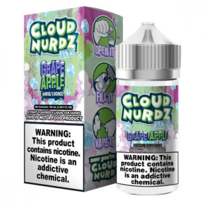 cloudnurdz grape apple iced