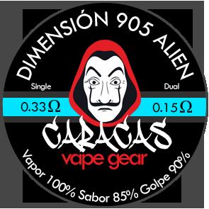 Caracas Vape Coils DIMENSION 905 ALIEN