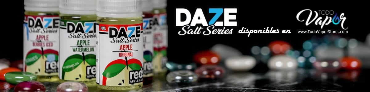 7daze red apple salt nic